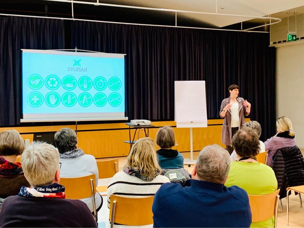 Xylosan Vortrag in Kriens: Xylit - die natürliche Alternative zur Volksdroge Zucker