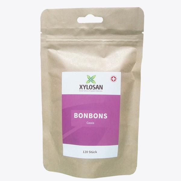 Xylit Bonbons Cassis (120 Stück)