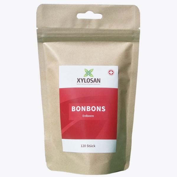 Xylit Bonbons Erdbeere (120 Stück)