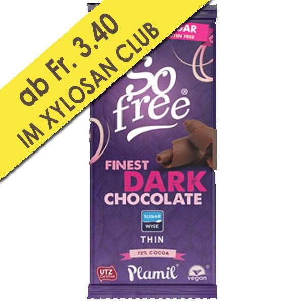 Xylit Schokolade 72% (80g)