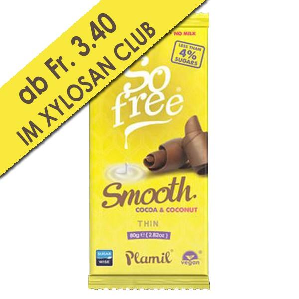 Schokolade ohne Zuckerzusatz Smooth Kokos (80g)