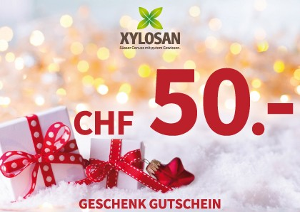 Weihnachtsgeschenk: Gutschein CHF 50.-