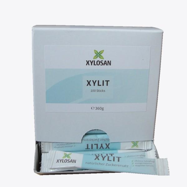 Xylit Pulver in Sticks (100 Stück)