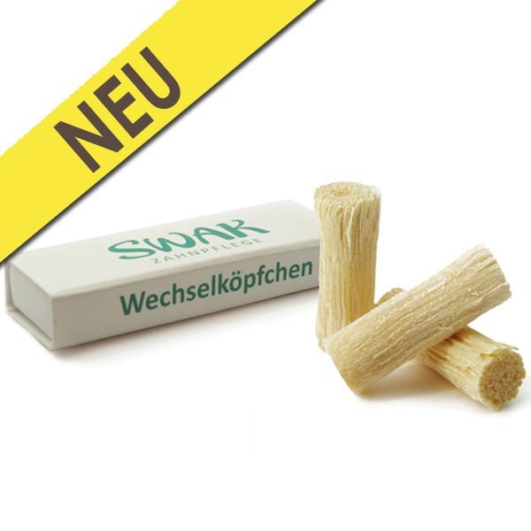 SWAK Miswak Wechselköpfchen 3er Pack