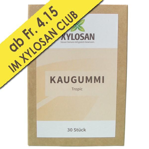 Xylit Kaugummi Tropic 30 Stück (100g = Fr. 13.11)