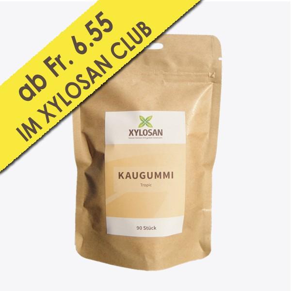 Xylit Kaugummi Tropic 90 Stück (100g = Fr. 7.42)