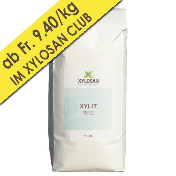 Xylit Pulver 1kg (holzbasiert aus Finnland)