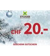 Weihnachtsgeschenk: Gutschein CHF 20.-