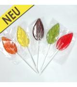 Lollies ohne Zuckerzusatz mit Xylit - Blätter