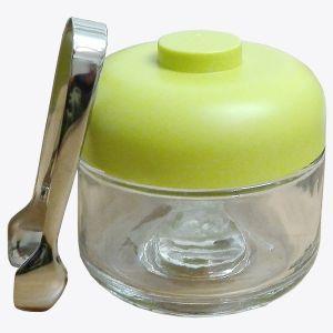 Vorratsglas & Zange