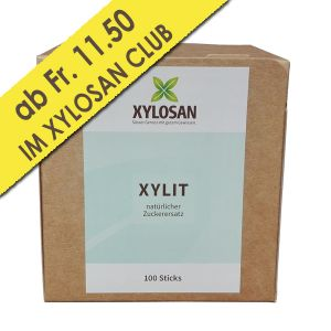 Xylit Sticks im Dispenser 100 Stück (100g = Fr. 4.11)